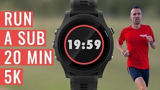 How To Run A SUB 20 MINUTE 5K
