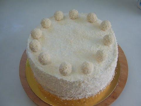 Творожный торт Рафаэлло