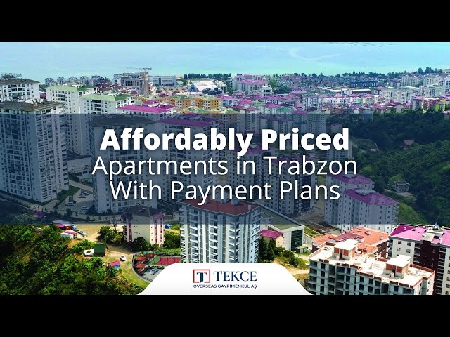 Affordable Trabzon Flats in Kaşüstü with Payment Plans