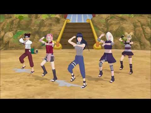 [MMD] Naruto Gangnam Style