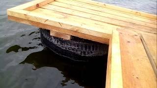Как изготовить мостик для рыбалки