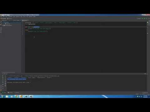 Python Programming Tutorial – 19 – My trip to Walmart and Sets