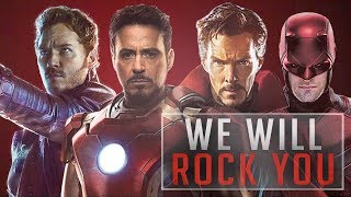 Marvel Cinematic Universe + TV / We will rock you