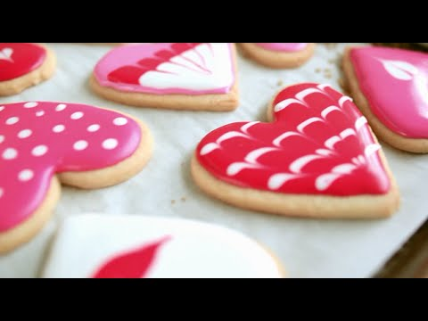 Valentine biscuits | Video recipe