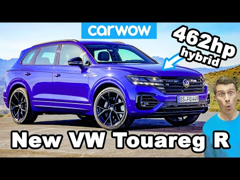 The new VW Touareg R is the most powerful Volkswagen EVER!