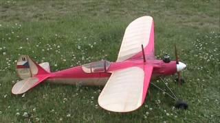 preview picture of video 'Historicky model Nebeská brána VB-601 - letiště Točná 21.6.2009'