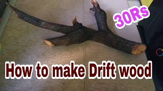 How To Make Driftwood   DIY Driftwood   Driftwood Kaise Banaye HINDI