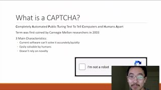 What is a CAPTCHA - Introduction to CAPTCHA Systems and How They Work