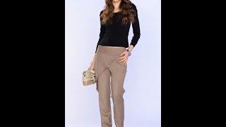 Моделирование брюк с запАхом. фото