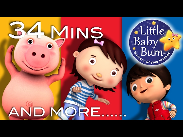 Action Songs | Learn with Little Baby Bum | Nursery Rhymes for Babies | Songs for Kids