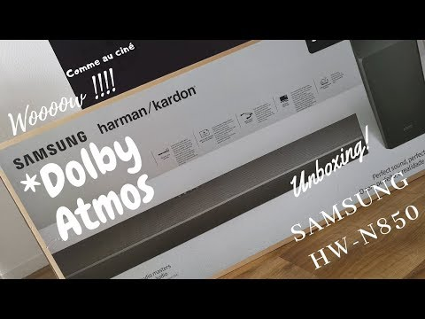 Samsung HW-N950 Dolby Atmos and DTS-X Unboxing and Sound