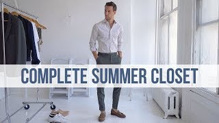 12 Summer Closet Essentials | Men's Fashion | Outfit Inspiration