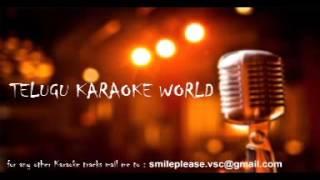 Masaka Masaka Chikatilo Karaoke || Devudu Chesina Manushulu || Telugu Karaoke Tracks ||