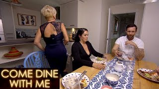 Tina WALKS OUT After A Bad Joke   Come Dine With Me