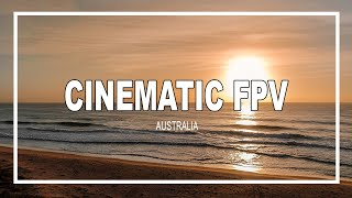 Cinematic FPV - Beach Flying in Australia