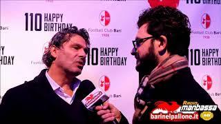 15/01/18 - I 110 anni della Fc Bari: intervista a Sabino Bartoli, autore dell