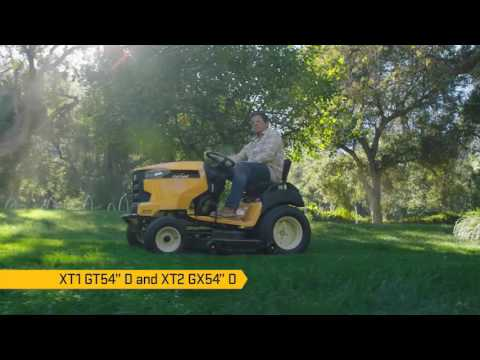 2019 Cub Cadet XT2 GX54 in. D in Livingston, Texas - Video 1