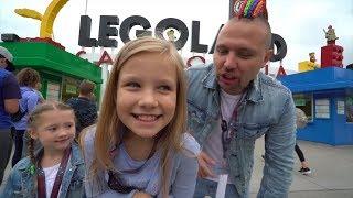 VIP ДЕНЬ РОЖДЕНИЯ Николь ! СЕКРЕТ в LEGOLAND и МЕГА СЮРПРИЗ от родителей ! IPhone X в 9 лет
