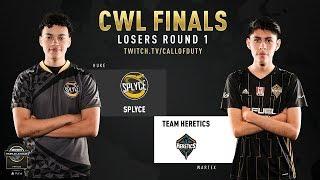 Splyce vs Heretics   CWL Finals 2019   Day 2