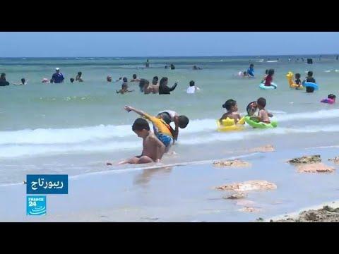 العرب اليوم - شاهد:توقف محطات معالجة الصرف الصحي في ليبيا يلوث الشواطئ
