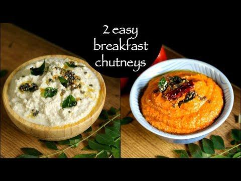 2 easy breakfast chutney recipes