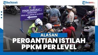 Airlangga Hartarto Beberkan Alasan Pemerintah Ganti Istilah PPKM Darurat Menjadi PPKM per Level