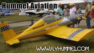Hummel Aviation, Hummel Bird, Hummel H5 and UltraCruiser all metal ultralight, experimental aircraft