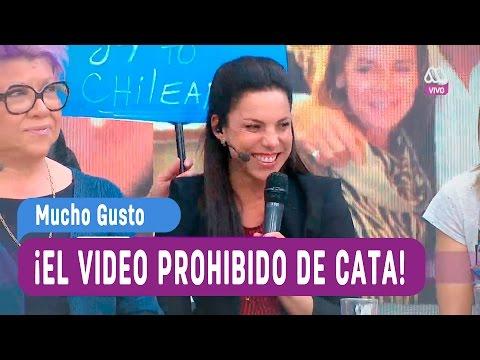 El video prohibido de Cata Edwards - Mucho Gusto 2016
