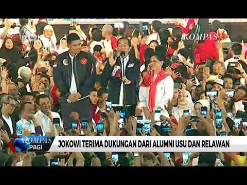 Safari Politik di Medan, Jokowi Perkenalkan Menantunya