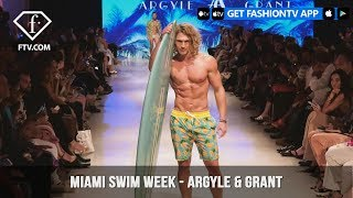 Argyle & Grant Sexy Mens Swimwear Miami Swim Week Art Hearts Fashion 2019 | FashionTV | FTV
