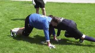 preview picture of video 'Letzter Trainingstag Fussball-Goalie-Academy Camp in Wagrain'