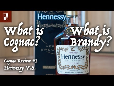 Cognac Review #1 Hennessy V.S. | What is Brandy & Cognac?