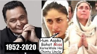 Kareena Kapoor EMOTIONAL Message For Rishi Kapoor Will Make You Cry