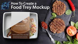 Food Packaging Mockup Photoshop Tutorial| Photoshop Mockup Tutorial