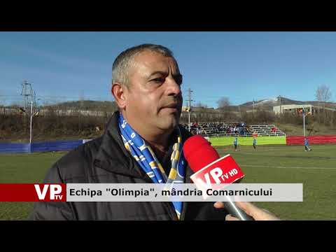 "Echipa ""Olimpia"", mândria Comarnicului"