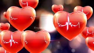 love background | heart background video | romantic background effect | free hearts on tiktok
