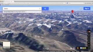 Lord Shiva face on Kailash revealed by Google Earth