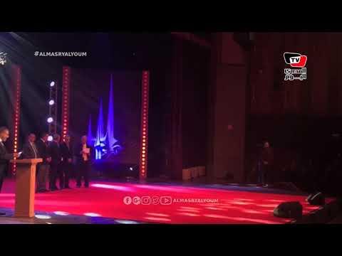 عمرو الليثي يسلم جائزة والده للسيناريو: «القدس عربية وستظل»