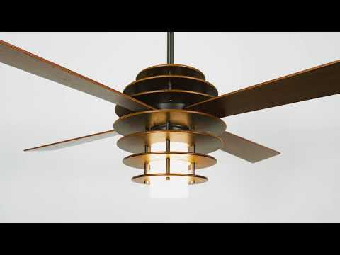 8203d9decf2 Modern Fan Co. SLA-MG Mahogany   Dark Bronze 52