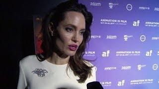 Angelina Jolie on the