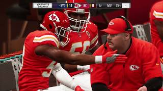 Madden_19 Giants at Chiefs Legends Game