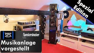Meine Musikanlage und Lautsprecher zusammengefasst und vorgestellt. Speakershocker Heimkino Anlage.