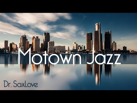 Motown Jazz - Jazz Saxophone Instrumental Music for Relaxing and Study