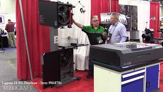 The Laguna 18 BX 3 HP Bandsaw Presented by Woodcraft