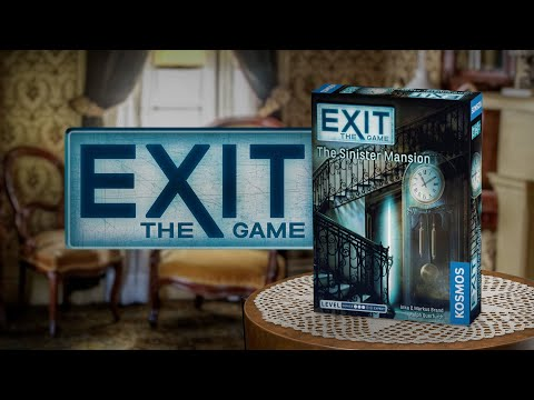 Youtube Video for The Sinister Mansion - Exit Game