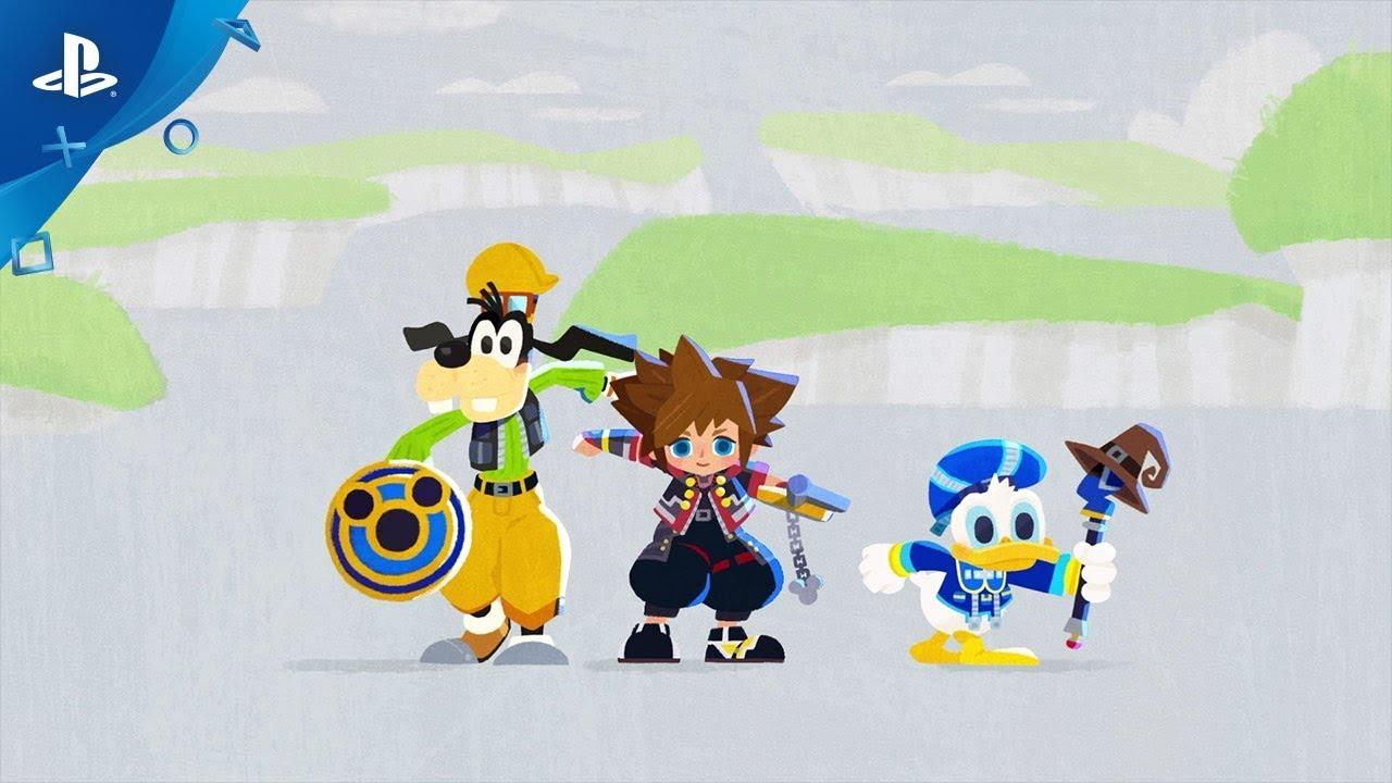 Kingdom Hearts III Chega ao PS4 Hoje
