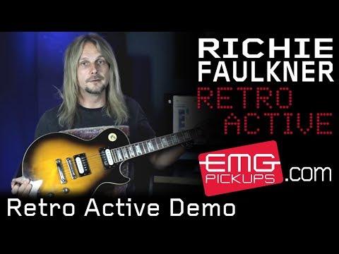 EMG Pickups / Hot 70-7 Set / Electric Guitar Pickups, Bass Guitar