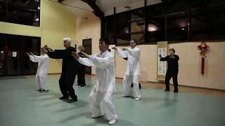 Démonstration Tai chi style Yang 24 mouvements de Pékin