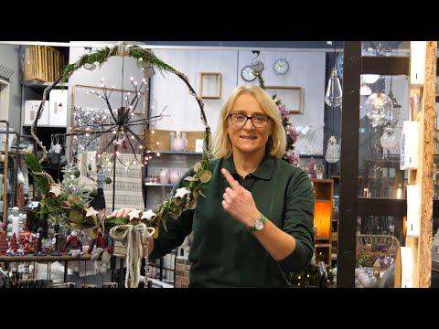 DIY - Weihnachtlicher Fensterkranz - Gartencenter Mencke