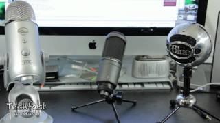 USB Mic Shootout: Review & Audio Comparison - Blue Yeti vs Snowball vs Audio Technica AT2020